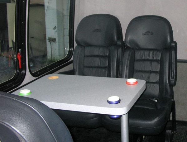 26 passenger vip bus interior