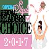 Capital Style Bridal Readers Choice 2017 Logo