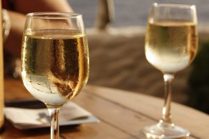 Two glass of white wine